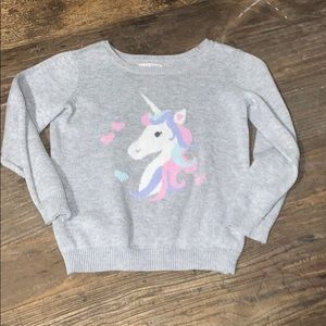 Children's Place Unicorn Sweater